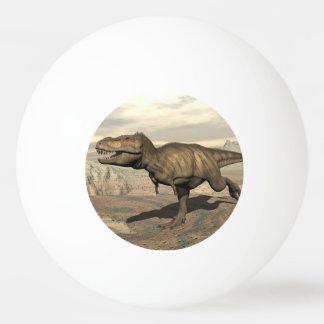 Tyrannosaurus running - 3D render Ping Pong Ball