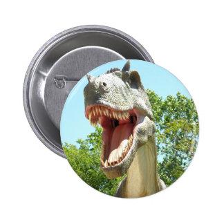 Tyrannosaurus T-Rex Dinosaur 2 Inch Round Button