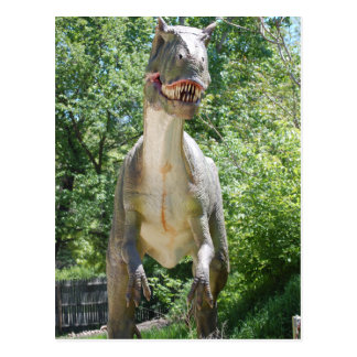 Tyrannosaurus T-Rex Dinosaur Postcard