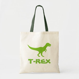 Tyrannosaurus t rex tote bag for kids school books