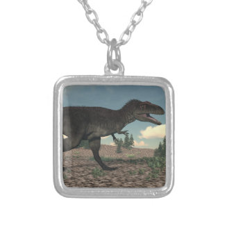 Tyrannotitan Silver Plated Necklace