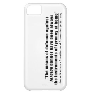 Tyranny at Home by James Madison iPhone 5C Cover
