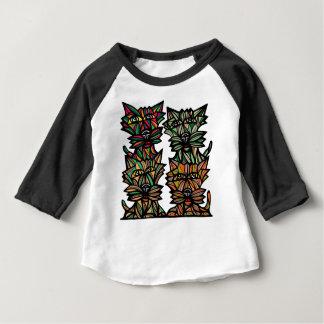 """Tyranny"" Baby 3/4 Raglan T-Shirt"