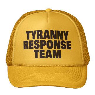 Tyranny Response Team Trucker Hats