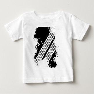 Tyre Tread Grunge Baby T-Shirt