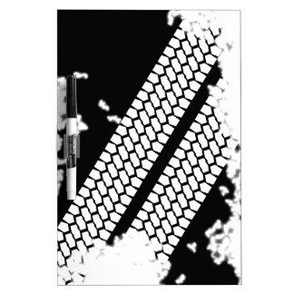 Tyre Tread Grunge Dry Erase Board