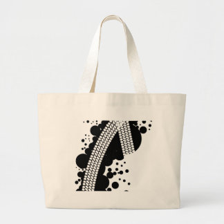 Tyre Tread Large Tote Bag