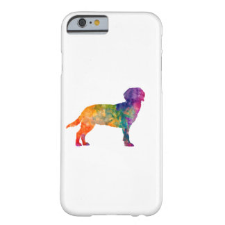 Tyrolean Hound in watercolor Barely There iPhone 6 Case