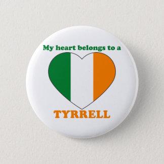 Tyrrell 2 Inch Round Button