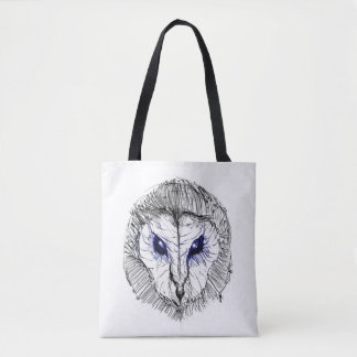Tyto owl tote bag
