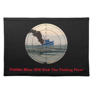U-29 - Stop Pebble Mine Placemat