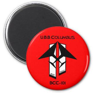 U.B.B Columbus Magnet