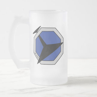U.B.S. Abandon Frosted Beer Mug