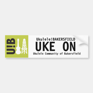 "U!B ""Uke on"" Sticker"