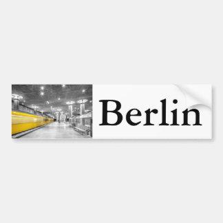 U Bahn Berlin Bumper Sticker