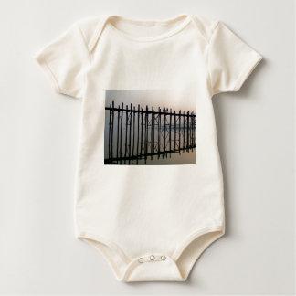 U Bein Bridge, Amarapura Baby Bodysuit