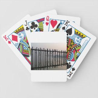 U Bein Bridge, Amarapura Bicycle Playing Cards