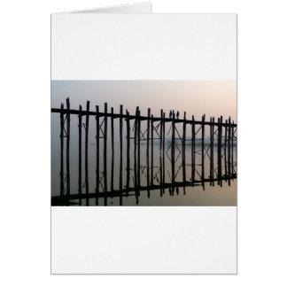 U Bein Bridge, Amarapura Card
