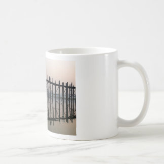 U Bein Bridge, Amarapura Coffee Mug