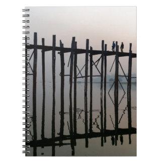 U Bein Bridge, Amarapura Notebooks