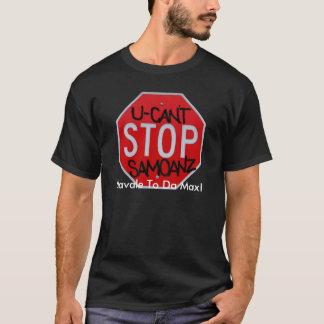 U can't stop samoanz, Ulaval... T-Shirt