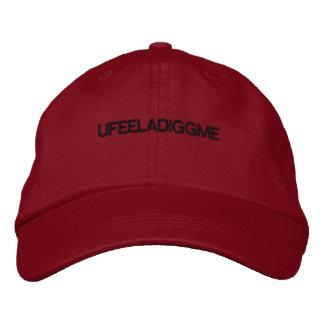 U feela digg me hat embroidered baseball caps