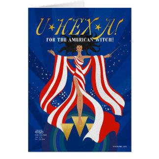 U HEX A Magazine Card