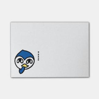 u hu hu penguin post-it® notes