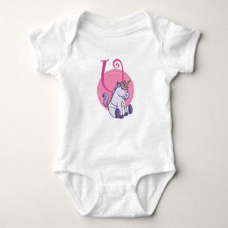 U is for Unicorn Baby Bodysuit