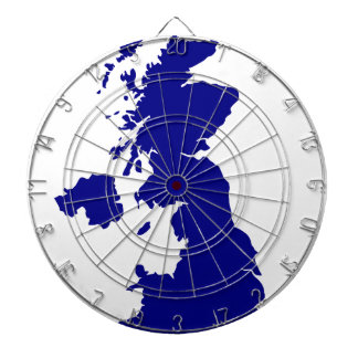 U.K. and Northern Ireland Silhouette Dartboard