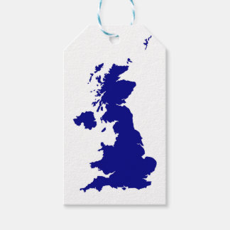 U.K. and Northern Ireland Silhouette Gift Tags