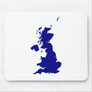 U.K. and Northern Ireland Silhouette Mouse Pad