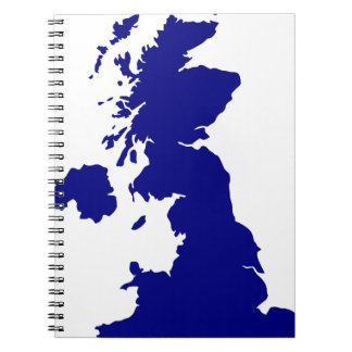 U.K. and Northern Ireland Silhouette Notebook