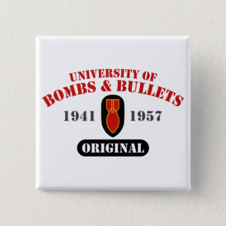U of B&B Original 2 Inch Square Button