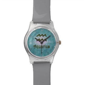 U Pick Color/ Aquarius Zodiac Sign Wristwatch