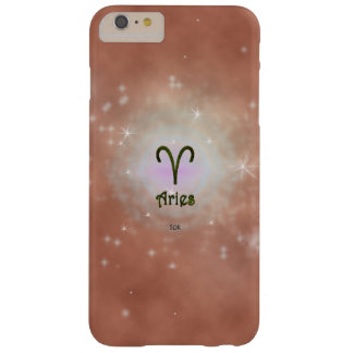 U Pick Color/ Aries Zodiac Sign Barely There iPhone 6 Plus Case