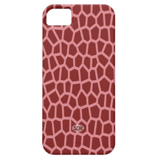 U pick Color/ Brown Giraffe Print in Mosaic Tile iPhone 5 Covers