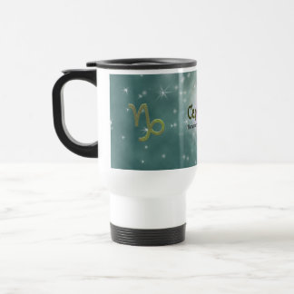 U Pick Color/ Capricorn Zodiac Sign Travel Mug