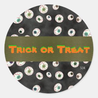 U Pick Color/Floating Eye Ball Candy Envelope Seal