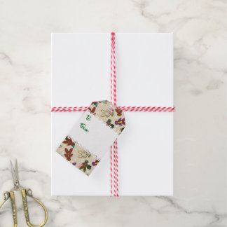 U-pick Color/ Gingerbread People & Snowflakes Gift Tags