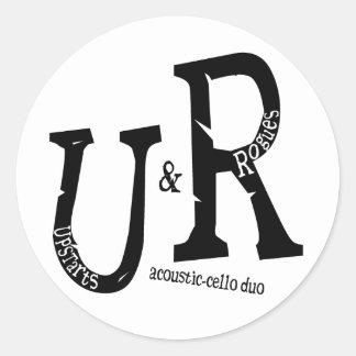 U&R Logo Sticker