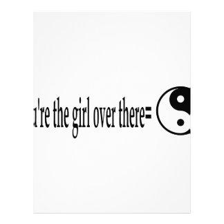 U R The Girl Letterhead Design