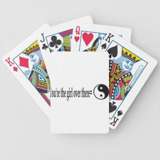 U R The Girl Poker Deck
