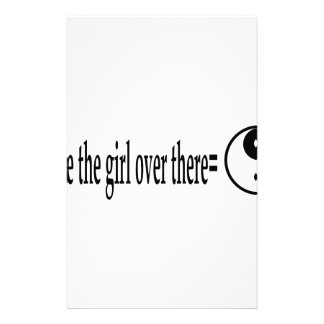 U R The Girl Stationery