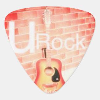 U rock guitar pick