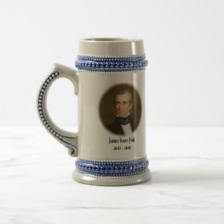 U.S.A. 11th President (Collectable Mug) Beer Stein