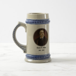 U.S.A. 21st President (Collectable Mug) Beer Stein