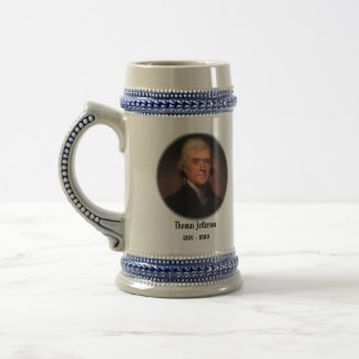 U.S.A. 3rd President (Collectable Mug) Beer Stein