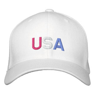 U.S.A. BASEBALL CAP - Customized