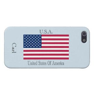 U.S.A.  drapeau Coque iPhone 5